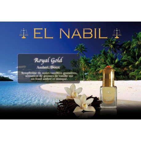 "Musc El-Nabil "" Royal Gold """